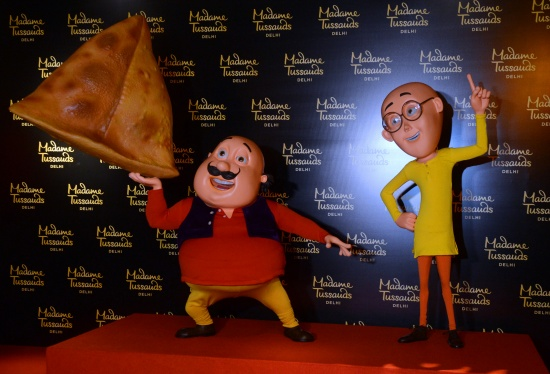 NickALive!: Madame Tussauds Delhi to Unveil Motu Patlu