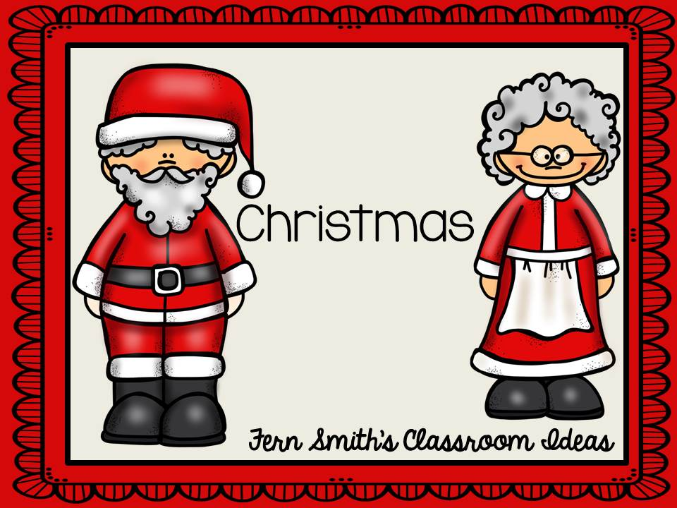 Tuesday Teacher Tips: Classroom Christmas Gifts for Students, Parents and Teachers from Fern Smith's Classroom Ideas