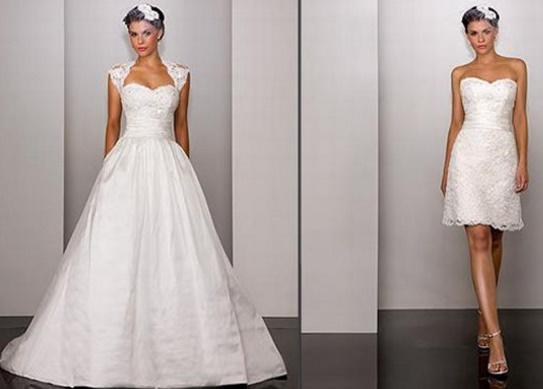 Vestidos%2B2%2Bem%2Bum15 - Uma noiva e 2 vestidos - Vestidos transformáveis 2 em 1