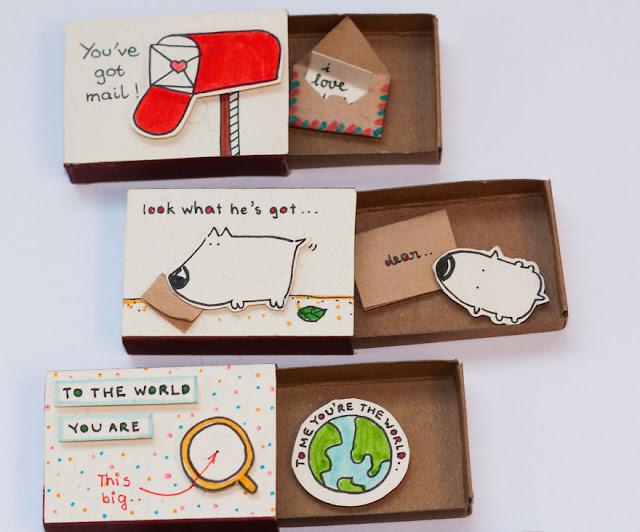 Cartas miniatura para los seres amados