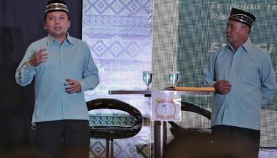 Ridho Paparkan Program Reformasi Birokrasi dan Pelayanan Publik Pada Debat Publik Kedua Pilgub Lampung 2018