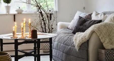 Casa con aislamiento y caliente en invierno
