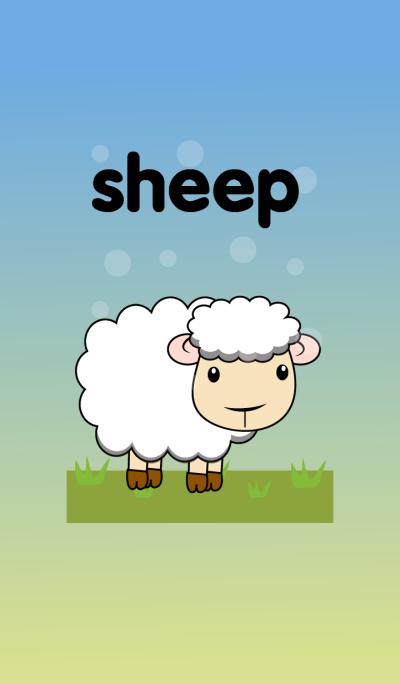 Simple sheep & Black sheep