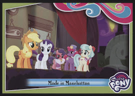 My Little Pony Made in Manehattan Series 4 Trading Card