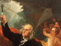 Benjamin Franklin, Orang yang Menemukan Penangkal Petir