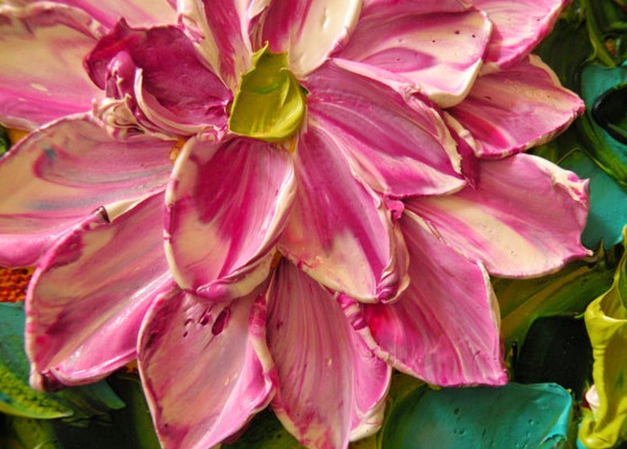pintura oleo flores con textura pinturas de flores con textura cuadros modernos de flores pinturas flores al leo sobre lienzo