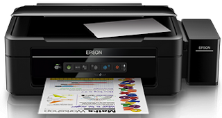 Epson L385 Wi-Fi All-in-One Ink Tank Printer image,  Epson L385 Wi-Fi All-in-One Ink Tank Printer support