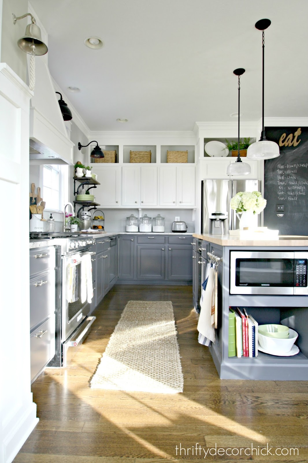 Kitchen Diys Details And Sources From Thrifty Decor Chick