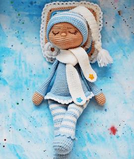 Кукла-сплюшка Соня