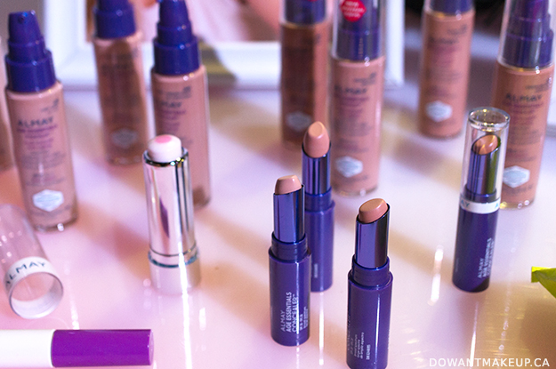 Almay foundation and concealer
