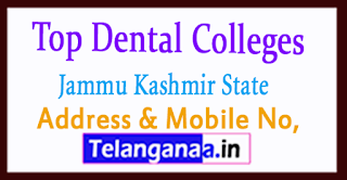 Top Dental Colleges in Jammu and Kashmir