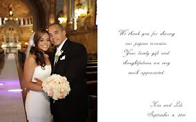 Writing Wedding Thank You Cards simple and interest