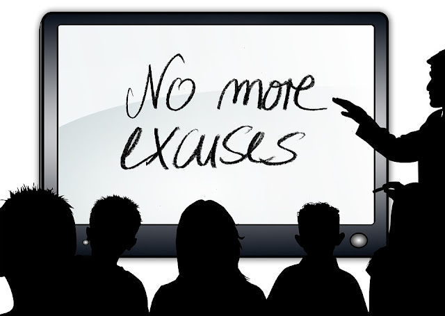 5  Excuses That Hold You Back From Success | proreader.in