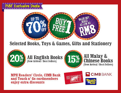 MPH BOOKERVILLE CARNIVAL SALE @ Putrajaya International Book Fair
