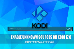 How To Enable Unknown Sources To Install 3rd Party Kodi Addons