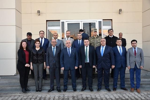 Vali Tuna Bozova'yı ziyaret etti