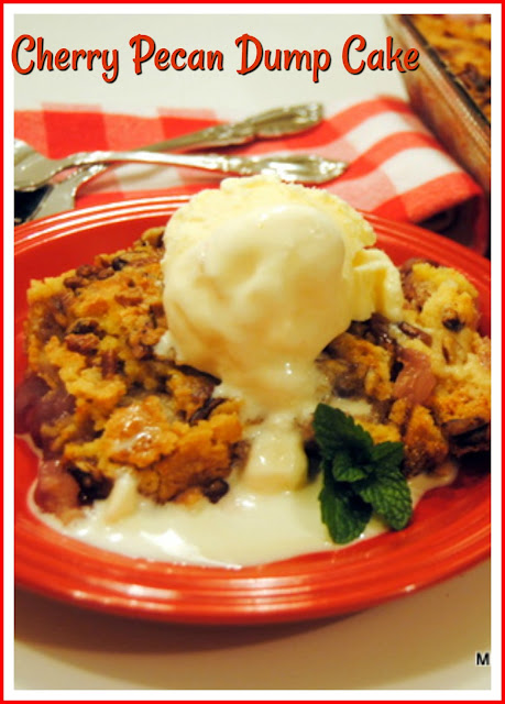 Cherry Pecan Dump Cake at Miz Helen's Country Cottage