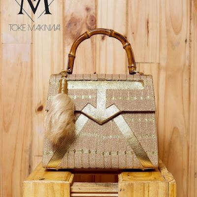 AsoOke designed bags fromToke Makinwa's new range