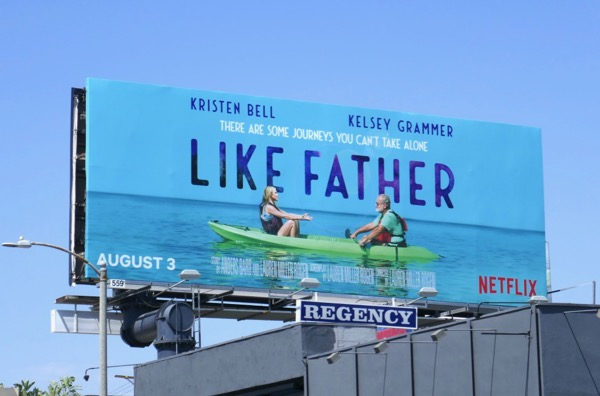 Like Father movie billboard