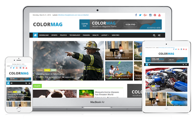 ColorMag - Responsive Themes