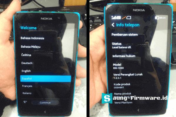 Cara Flash Nokia XL RM-1030 dengan Nokia X Flasher