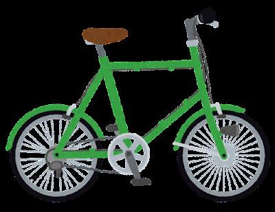 小径車のイラスト(自転車)