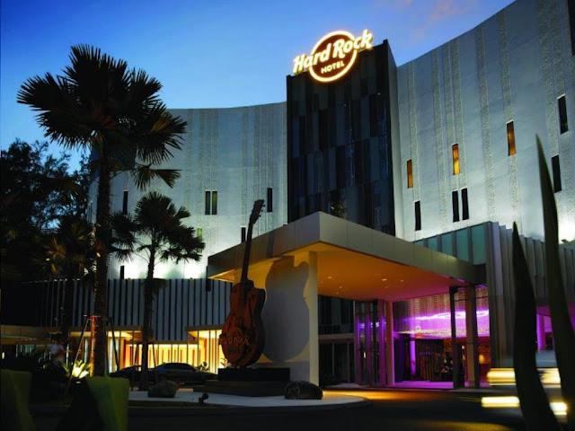 Percutian Rock and Roll di Hard Rock Hotel Penang, Pilihan bilik Hard Rock Hotel Penang, Tempat menarik di Penang, Hotel best di Penang