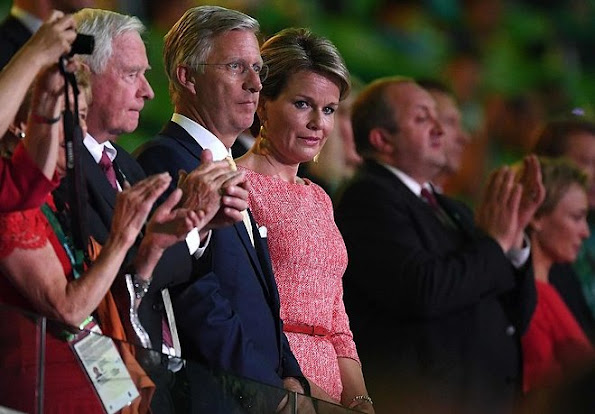 King Philippe and Queen Mathilde, Crown Princess Mary and Prince Frederik, Princess Anne, King Willem-Alexander, Prince Albert of Monaco