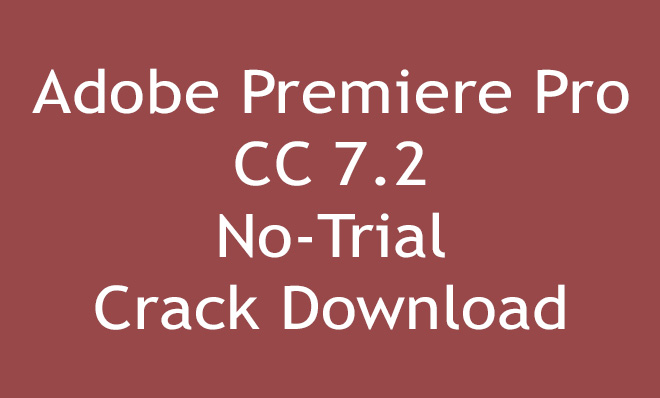 adobe premiere pro cracked download