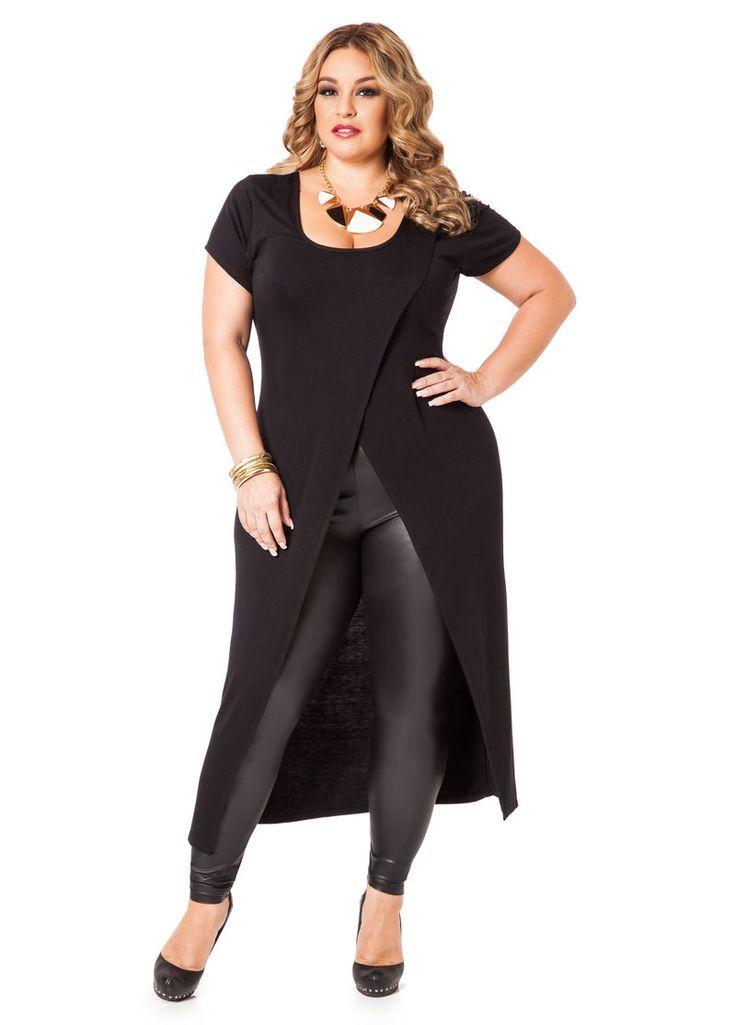 Leggings Outfit Plus Size Girls u0026 Women - KiziFashion
