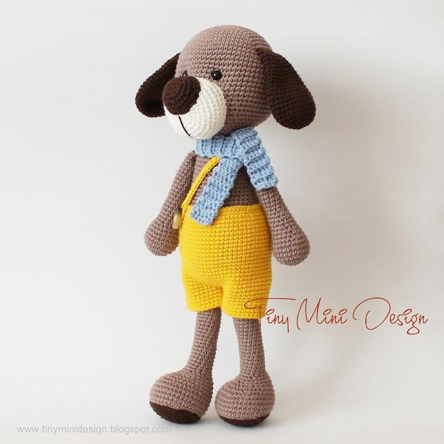 Amigurumi,Amigurumi Dog,Crochet Dog