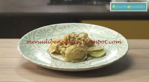 Pronto e postato - Curry di seppie ricetta Benedetta Parodi