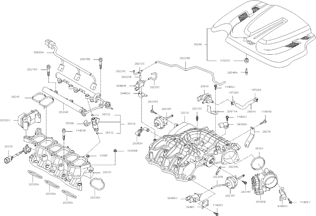 2012 Kia Sorento Parts Diagram