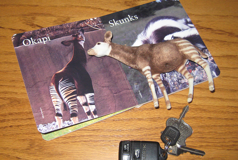 Collagemamas Itty Bitty Blog If Youre Okapi And You Know It