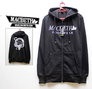 Jaket Fleece Hoodie  Macbeth MAC002