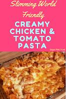 Slimming world creamy tomato pasta recipe
