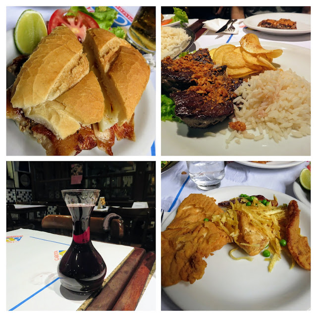 What to eat in Rio de Janeiro: pork sandwich and brazilian wine at Garota de Ipanema