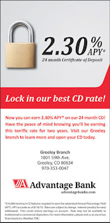 Advantage Bank: 2.30% APY 24 Month CD