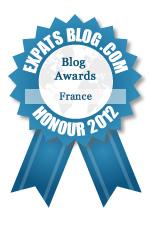 这篇博客赢得了法国最佳Expat博客奖励奖!