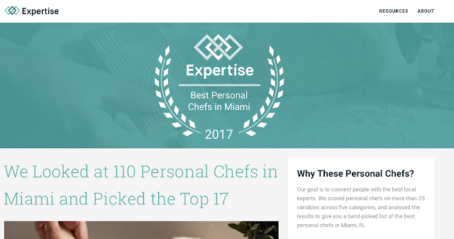 Top Miami Personal Chef - Top Fort Lauderdale Personal Chef - Palm Beach Personal Chef
