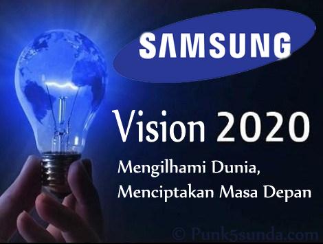 Visi Samsung Electronics Tahun 2020