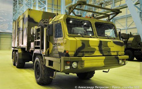 Truk komando dan kontrol sistem Vityaz