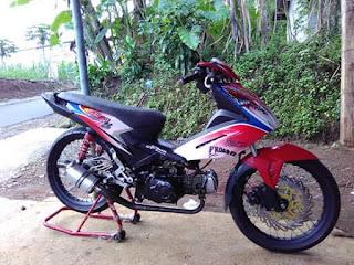 modifikasi honda blade 110cc terpopuler