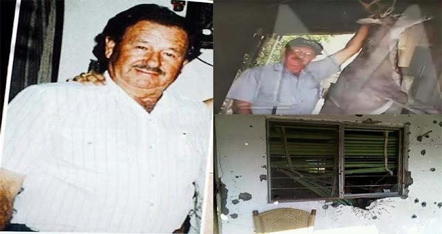 Cuando los marinos llegaron no pudieron creer que un solo hombre enfrento a 30 sicarios de Los Zetas: Esta es la historia de Don Alejo Garza Tamez a 8 años de su muerte