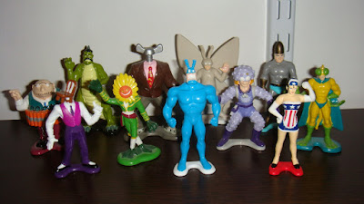 Bandai The Tick 2 inch figure series