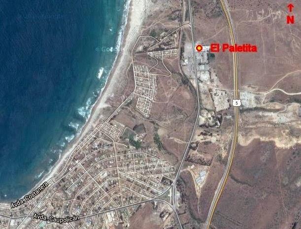 El Paletita Los Vilos mapa detalle