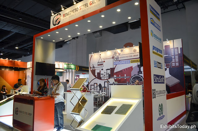 Benedicto Steel Group Exhibit Booth