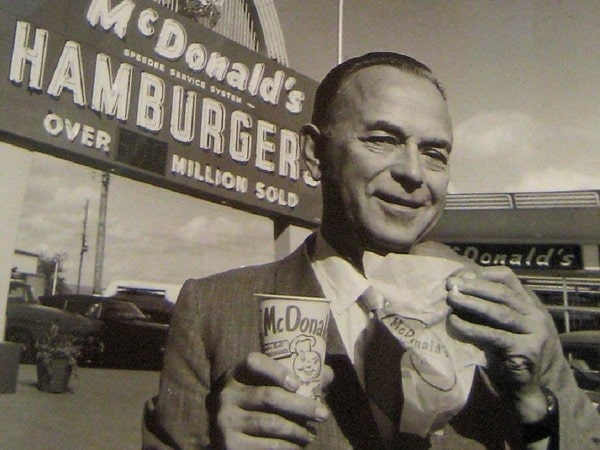 Крок в истории компании Макдональдс