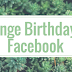 Change Facebook Birthday