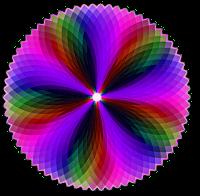 Geométrico colorido esfera em PNG